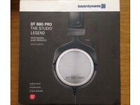 Beyerdynamic DT 880 Pro, 250 Ohm semi-opened Studio Monitoring Headphones not used, it was a present