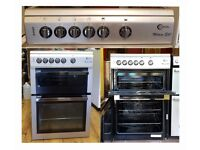 60cm Flavel Ceramic Cooker, Fan Assisted Oven & Seperate Grill - 6 Months Warranty