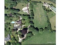 Paddock Land (rarely available) For Sale within the village of Clanfield Oxfordshire