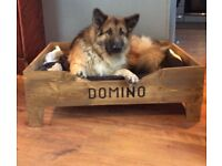 PERSONALISED DOG BED