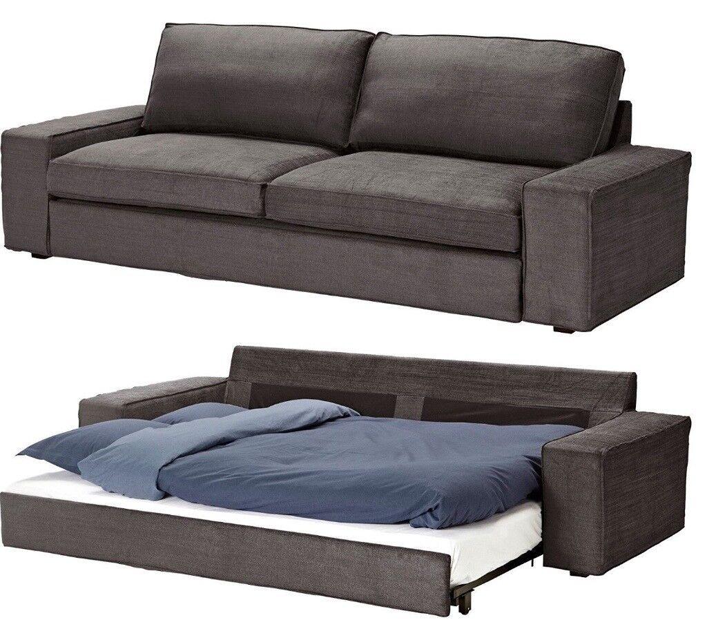Urgent Ikea Kivik Sofa Bed 3 Seater