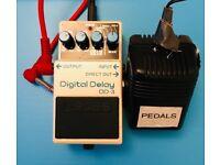 Guitar pedal - boss digital delay