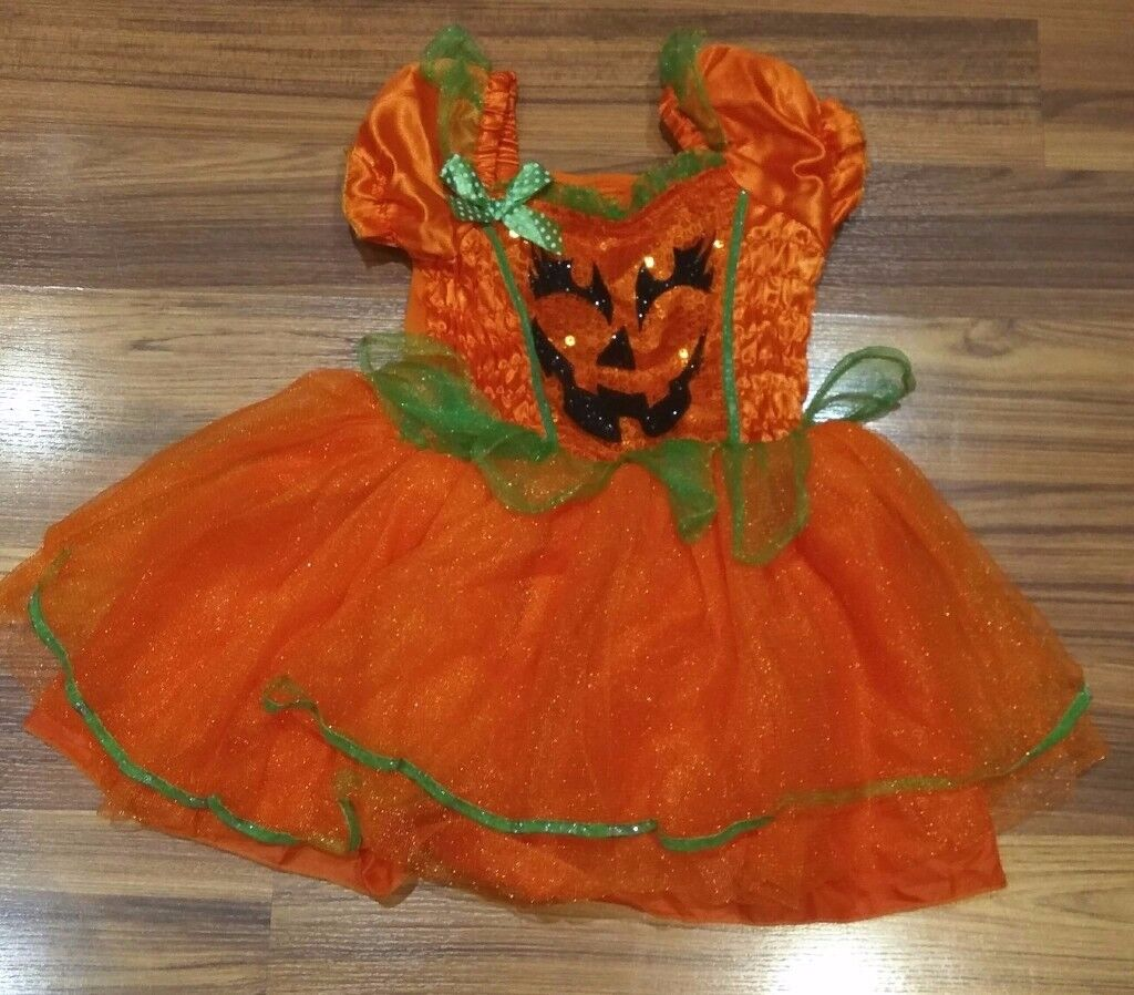 Pumkin Halloween Dress