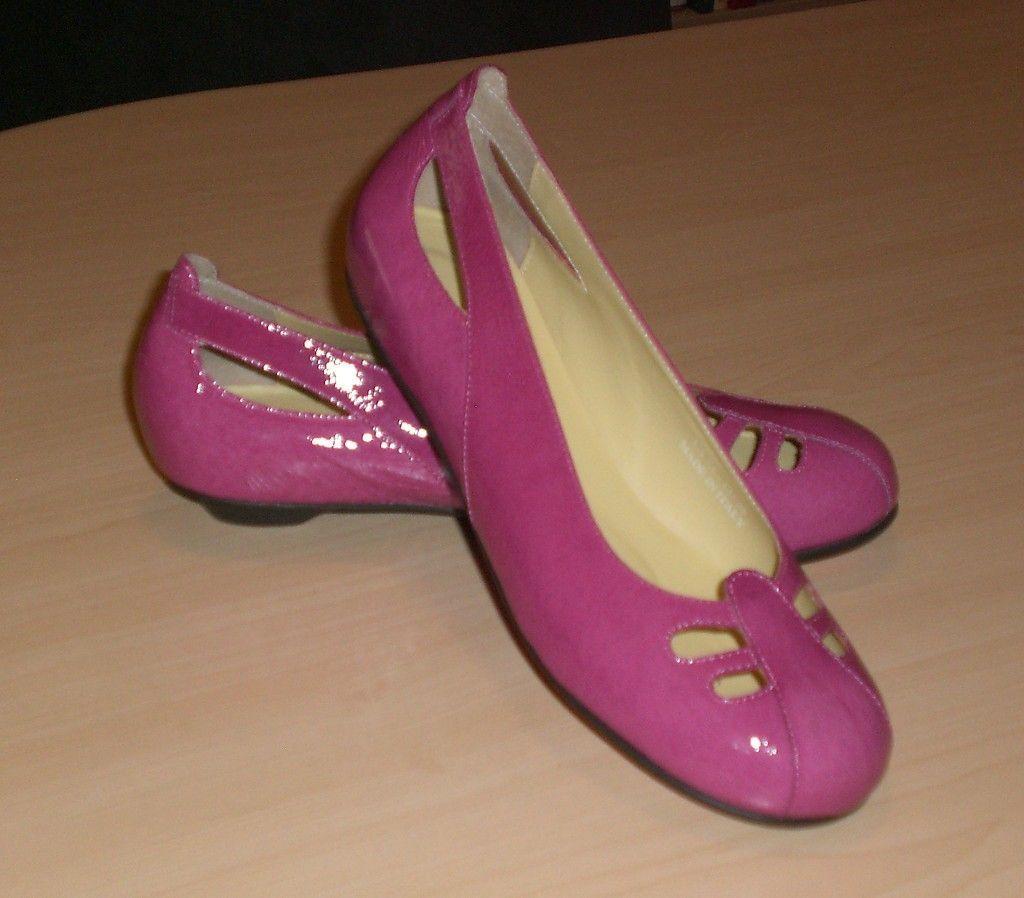 Crocs You by Crocs Bali flats fuchsia leather 8.5 M NEW 1