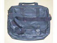 Black Carry Case With Shoulder Strap
