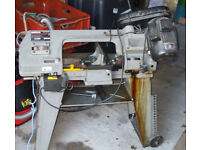 Metal bandsaw for sale Sealey metal cutting bandsaw.
