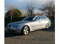 2006 BMW E61 520d SE Touring, auto, 138k, long MOT, FSH.