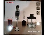 AEG Instant Mix Hand Blender £38 BRAND NEW