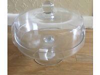 New Sainsbury's Glass Cake Dome