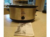 Rival Crock Pot Slow Cooker 6.5L, Large Capacity