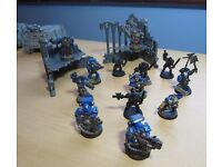 Warhammer Space Marine figures