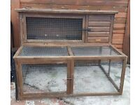 Rabbit Hutch & Run