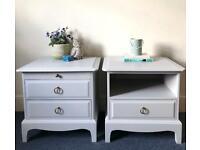 Stag Minstrel bedside tables (pair)