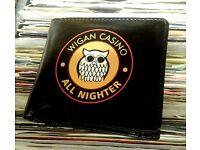 Brand new Wigan Casino wallets.