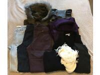Winter ladies clothing bundle 8/10/12