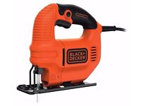 BLACK+DECKER KS501-GB 400W Black and Decker Compact Jigsaw with Blade New and Sealed in Retail Box