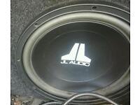 JL Audio 12w0v3-4 12 Inch Car Sub Subwoofer