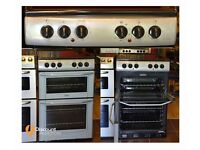 55cm Belling Ceramic Cooker, Fan Assisted Oven/Grill- 6 Months Warranty