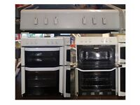 60cm Belling Ceramic Cooker, Double oven (Fan assisted) - 6 Months Warranty