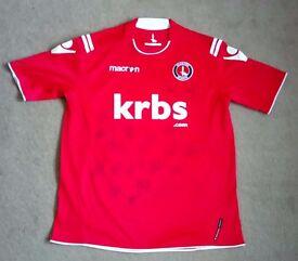 Signed Charlton Athletic Shirt 2011/2012
