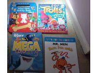 7 x BRAND NEW CHILDREN'S ACTIVITY BOOKS