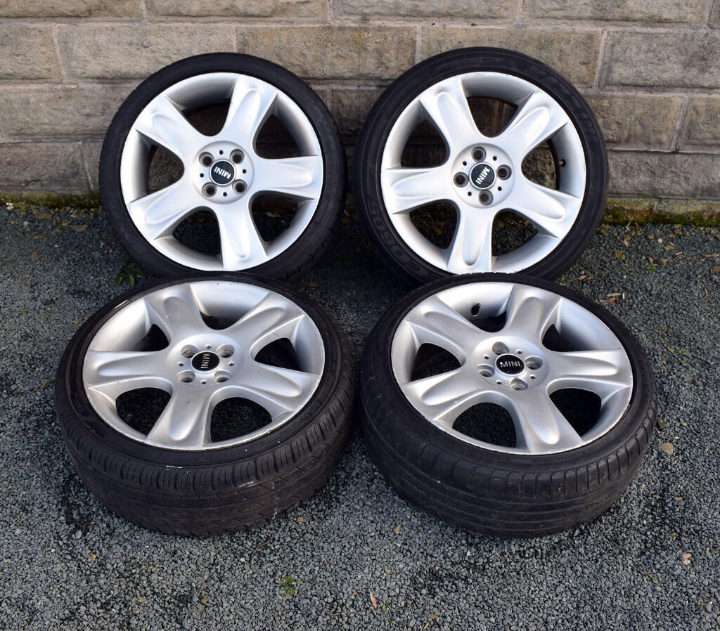 "Mini Cooper Wheels >> 17"" Genuine Mini Cooper S Bullet Alloy wheels and tyres"