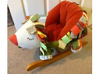 Mamas & Papas Hedgehog Rocker - great condition