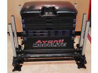 Avanti Modulite Seatbox with Six independent adjustable legs with swivel mud feet