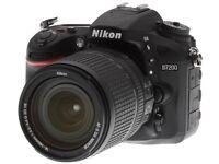 Brand New Nikon D7200 Body