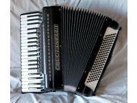 Crucianelli Piano Accordion 120 bass Musette tuned