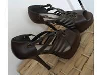 ASOS high heels, sandals size 4