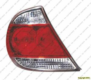 Tail Lamp Passenger Side Le/Xle Model Japan Built High Quality Toyota Camry 2005-2006