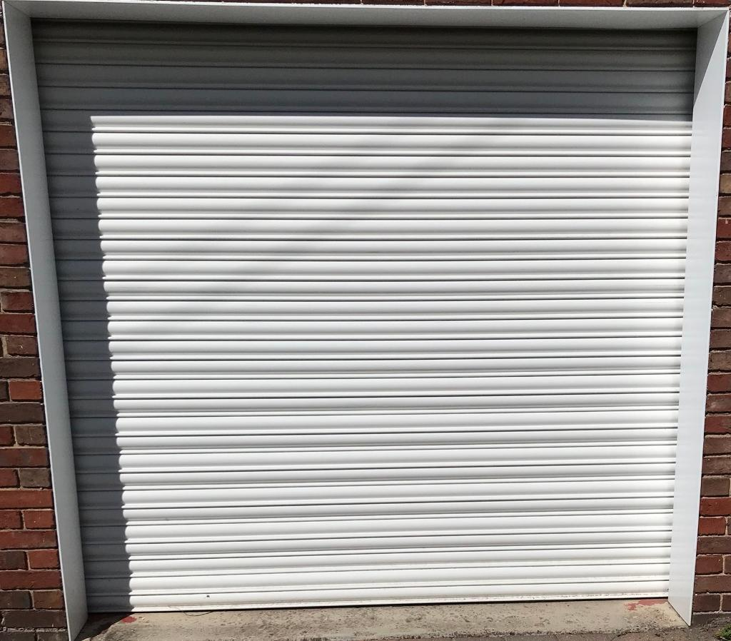 Electric Roller Garage Door In Bishop Auckland County Durham