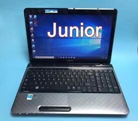 Toshiba Fast HD Laptop, 8GB Ram 320GB, Genuine Win 10, HDMI, Microsoft office,Excellent Condition