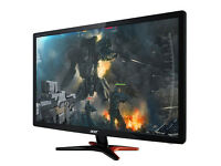 BRAND NEW SELED Acer GN246HL Bbid 24-Inch 3D Gaming Display 1ms (144Hz Refresh Rate) £229.99