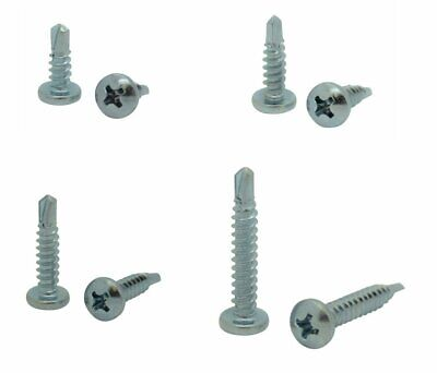 400 Qty Assorted 10 Zinc Pan Head Phillips Tek Self Drilling Sheet Metal Screws