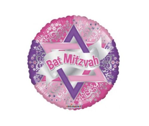 "Bat Mitzvah 18"" Balloon Birthday Party Decorations"