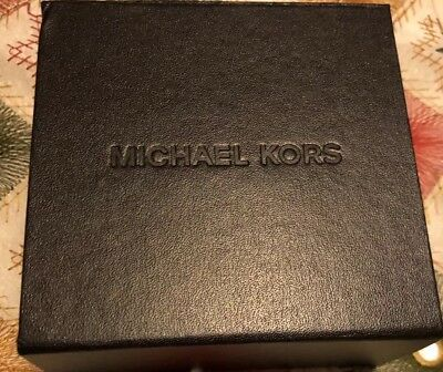 MICHAEL KORS Dark Brown  Jewelry Gift Box with Magnetic Closure](Jewelry Gift Boxes Michaels)