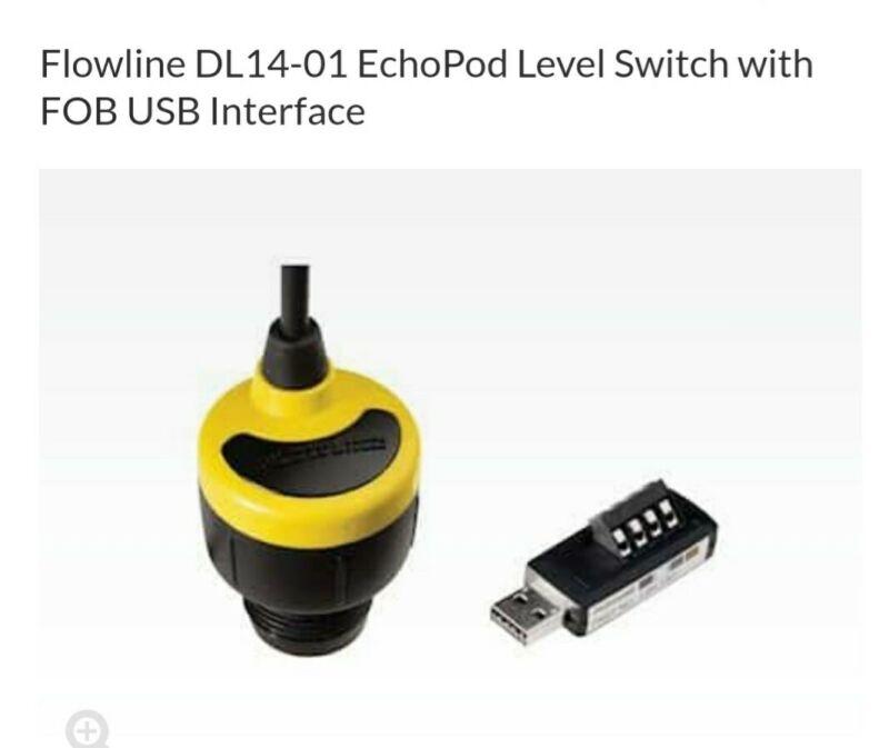 Flowline EchoPod DL24 Ultrasonic Level Transmitter