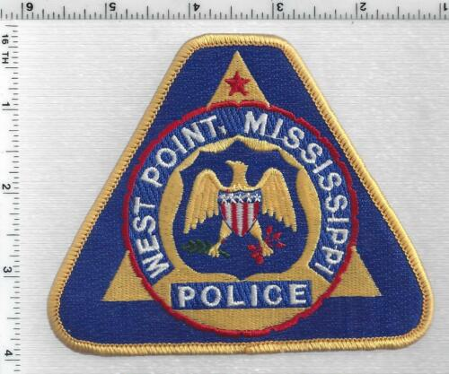 West Point Police (Mississippi) 2nd Issue Shoulder Patch