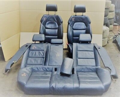 AUDI A6 2006 DIESEL - AUTO - SET OF FULL LEATHER SEATS, HEAD RESTS & ARM REST
