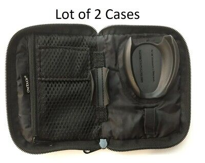Lot of 2 - One Touch Ultra 2 Glucose Meter Carrying Case / O