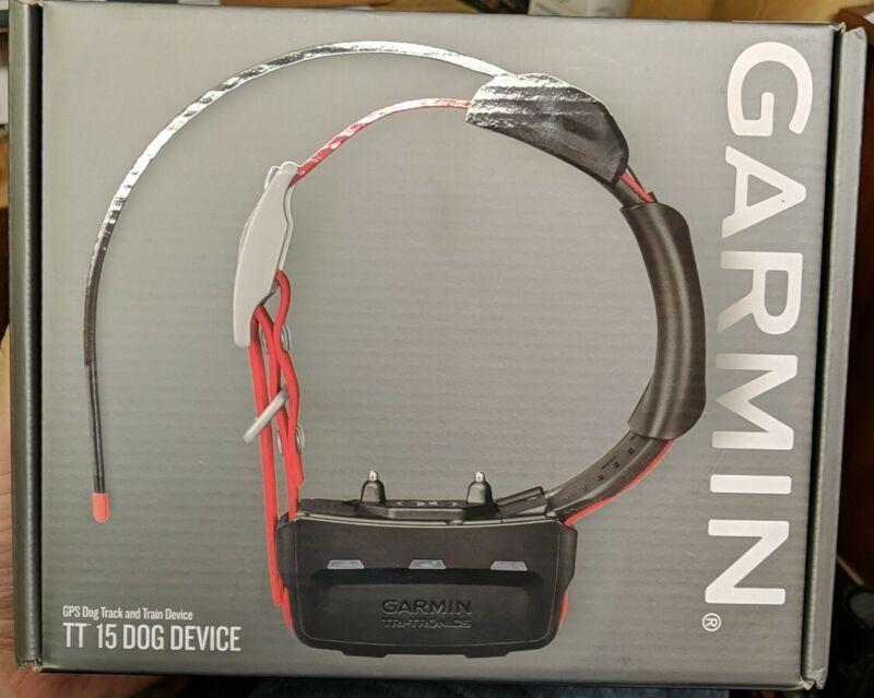 Garmin TT15 GPS Dog Tracking & Training Collar Device 010-01041-80 - New Open!!!