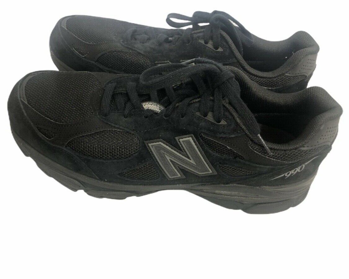 Mens New Balance black Running shoes gym shoe M990TB3 New Size 10