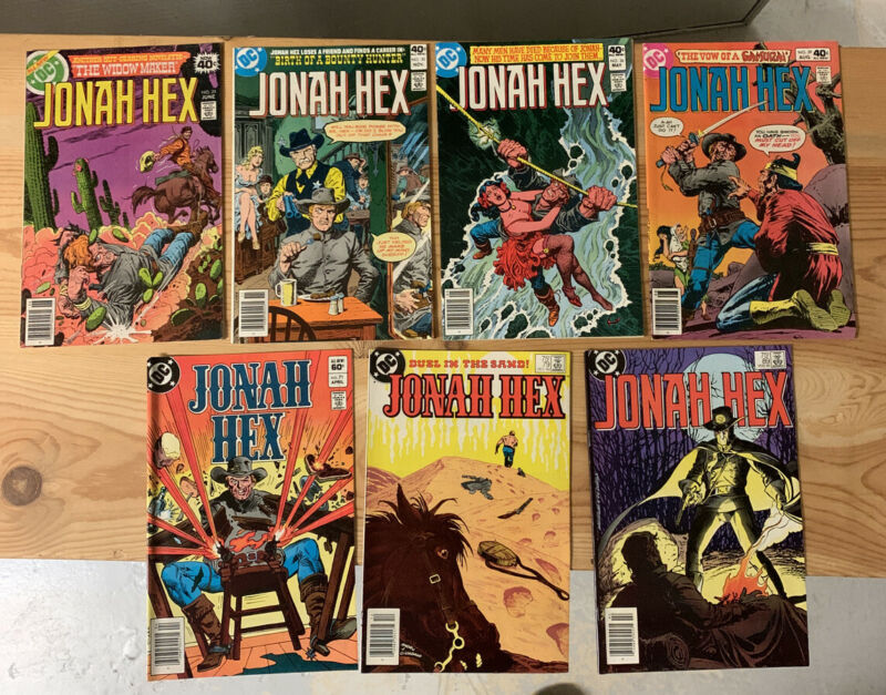 JONAH HEX Lot of 7: #25,30,36,39,71,79,89