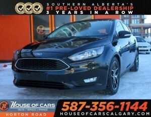 2017 Ford Focus SEL/BACK CAM/BLUETOOTH/HEATED SEATS AND WHEEL