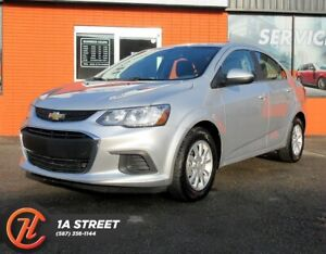 2018 Chverolet Sonic LT/BACKUP CAM/HEATED SEATS/BLUETOOTH/MORE