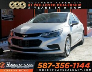 2018 Chevrolet Cruze LT/ BACKUP CAM/ HEATED SEATS/ BLUETOOTH/ MO