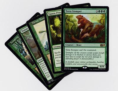 TERRA STOMPER NM mtg Origins Green Creature Beast Rare