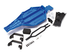 Traxxas-5830-Low-Center-Gravity-Blue-Chassis-Conversion-Kit-NEW-Slash-2WD-LCG